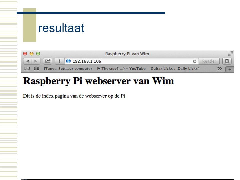 Raspberry-Pi31 resultaat