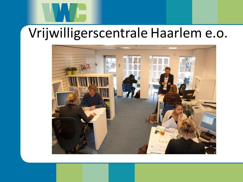 Chris Rabbers Projectcoördinator Vrijwilligerscentrale Haarlem en omgeving VWC