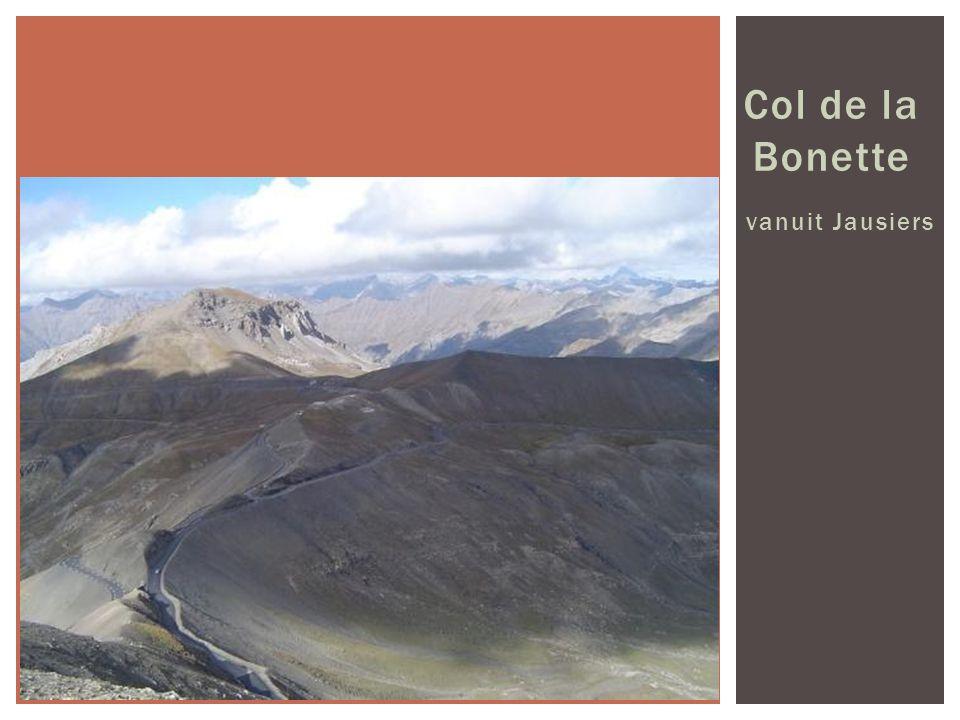 Col de la Bonette vanuit Jausiers