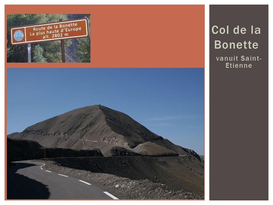 Col de la Bonette vanuit Saint- Etienne