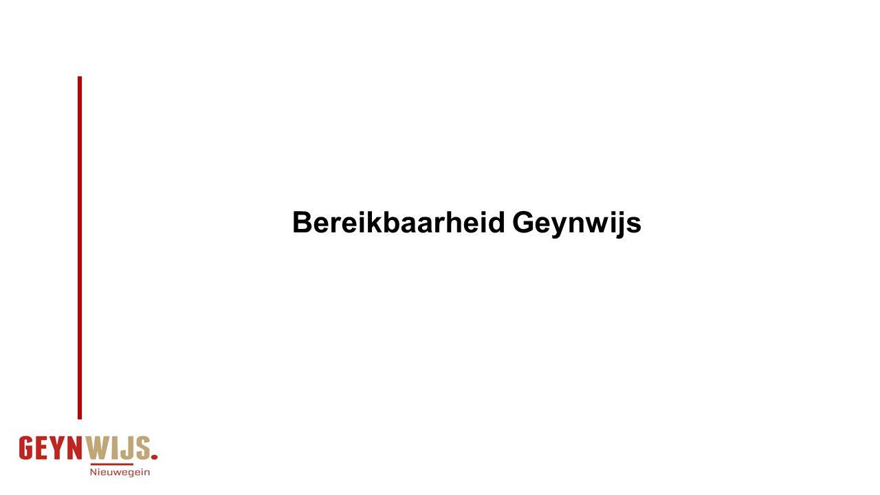 Bereikbaarheid Geynwijs