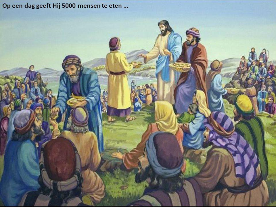 Jezus onderwijst Zijn discipelen over het Koninkrijk der Hemelen …