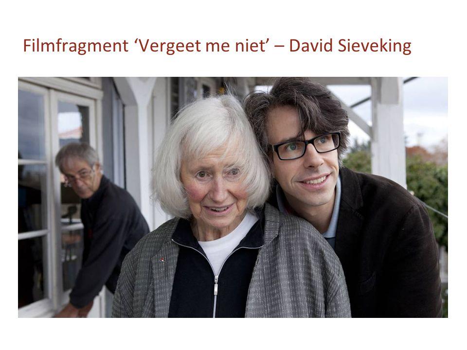 Filmfragment 'Vergeet me niet' – David Sieveking