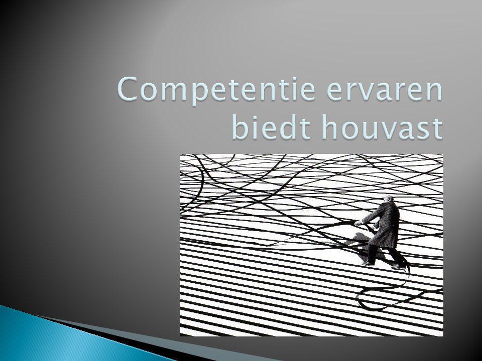  Competentie is de bekwaamheid om een gewenst resultaat te behalen  Bekwaamheid wordt bevorderd door: ◦ Duidelijke en consistente verwachtingen en afspraken vanwege de leerkracht naar de ll.