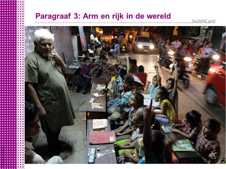 Paragraaf 3: Arm en rijk in de wereld