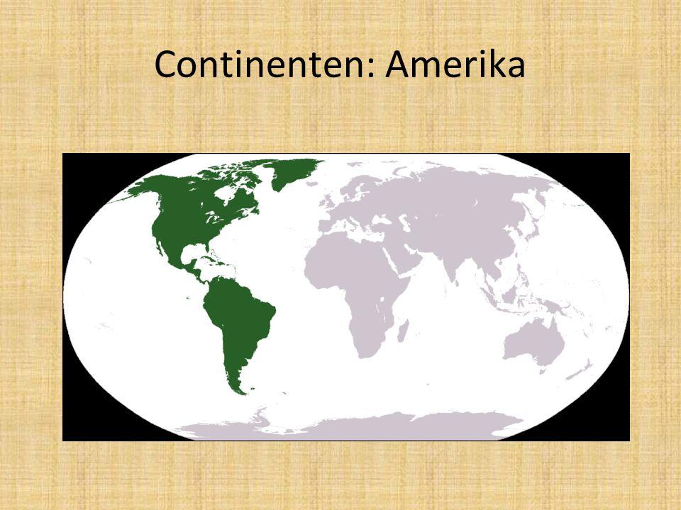 Continenten: Amerika