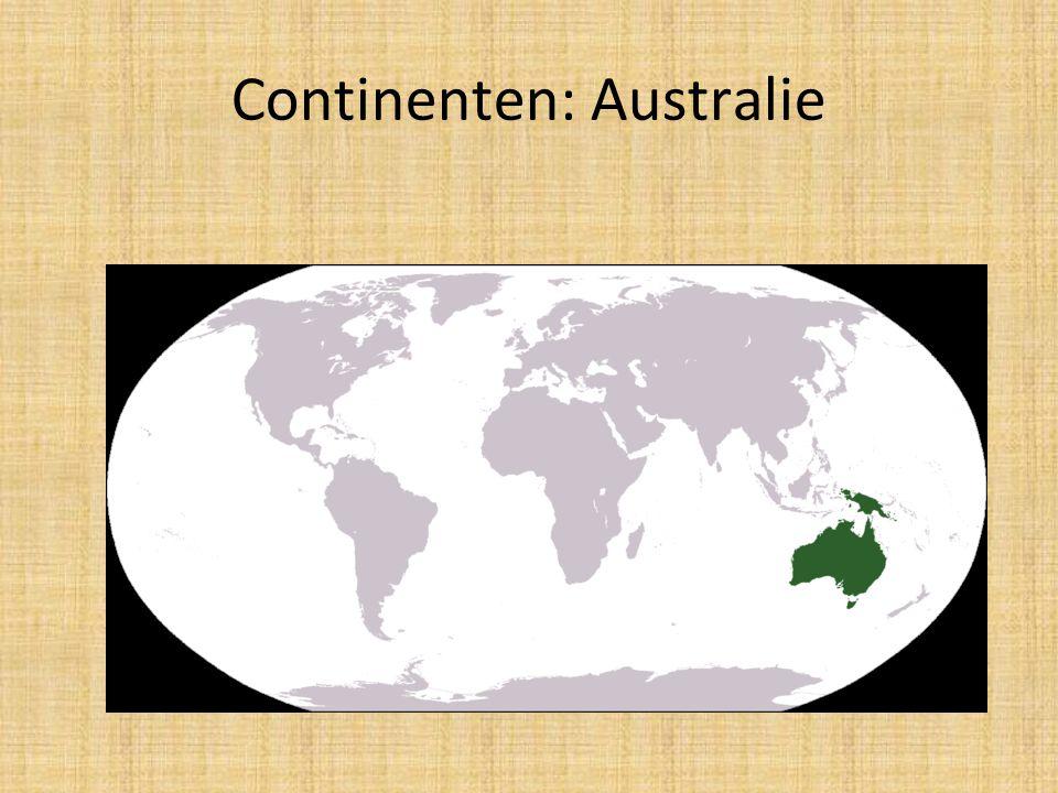 Continenten: Australie