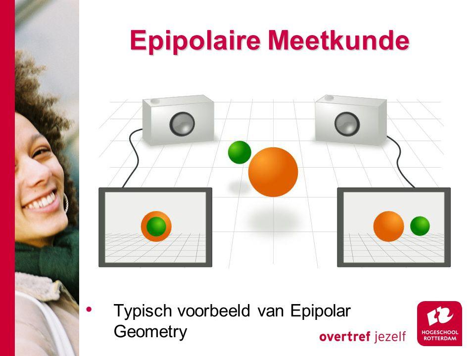 # Epipolaire Meetkunde Typisch voorbeeld van Epipolar Geometry