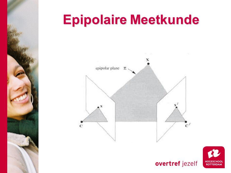 # Epipolaire Meetkunde