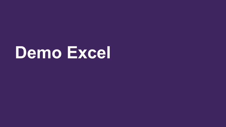 Demo Excel