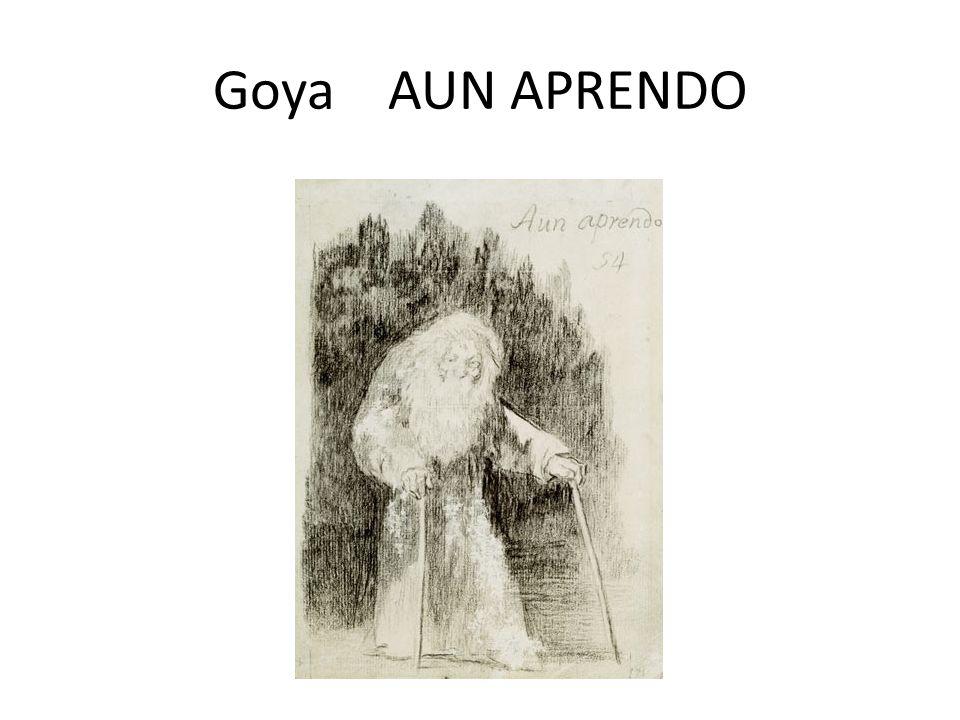 Goya AUN APRENDO