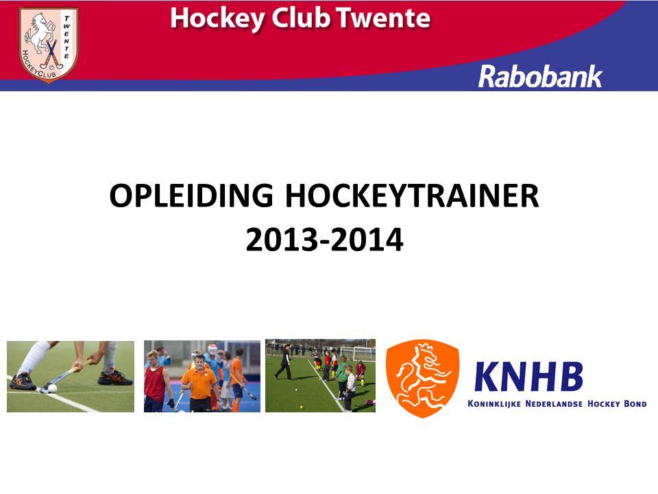 OPLEIDING HOCKEYTRAINER 2013-2014