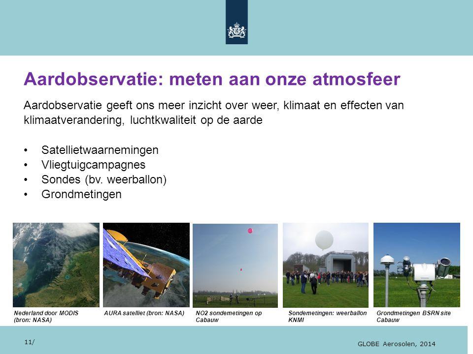28/10/13 Aardobservatie: meten aan onze atmosfeer... geeft mooie beelden Aardobservatie geeft ons meer inzicht over weer, klimaat en effecten van klim