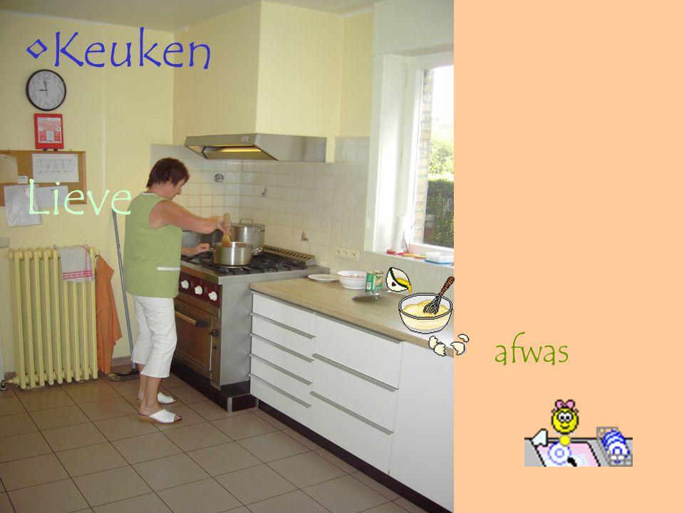 Keuken Lieve afwas