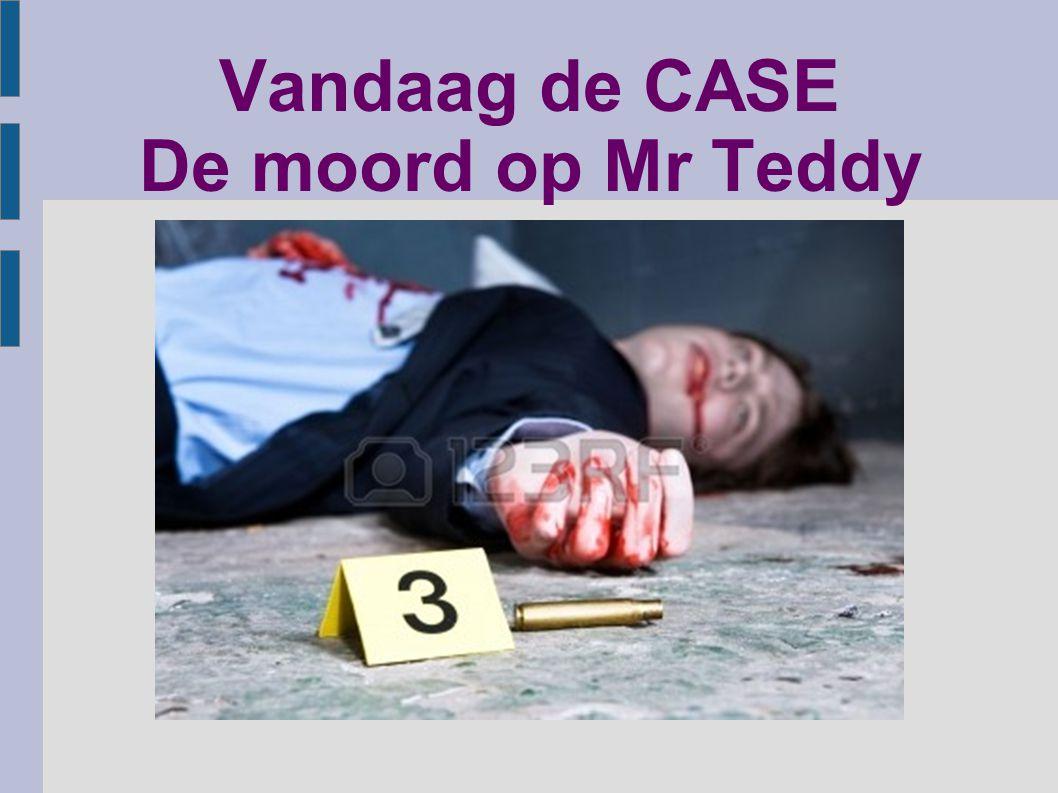 Vandaag de CASE De moord op Mr Teddy