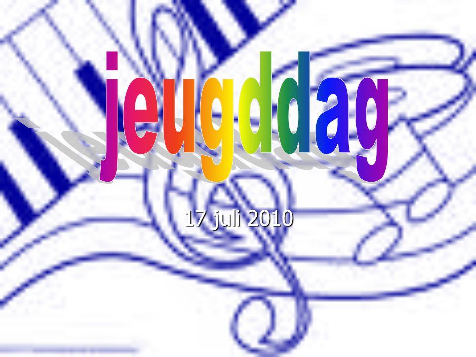 Het belooft een mooie dag te worden Onze VIO leerlingen en leden van de jeugdfanfare komen met hoge verwachtingen naar de jaarlijkse jeugddag