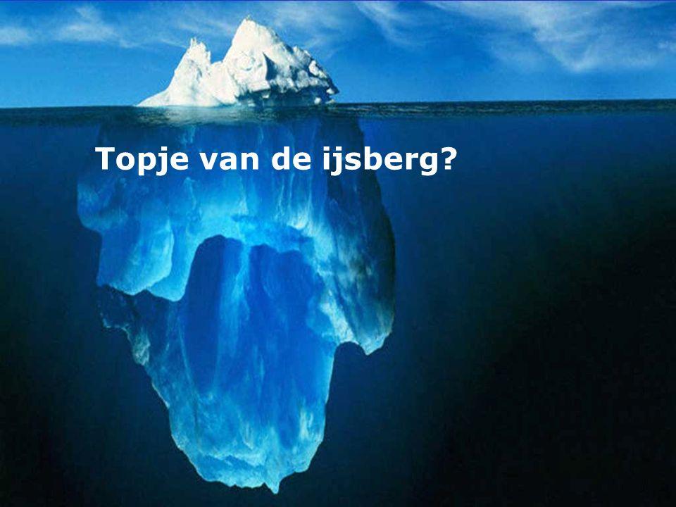 Topje van de ijsberg?