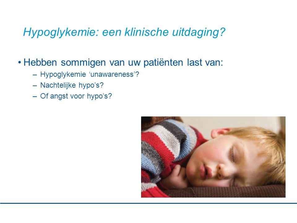 Hypoglykemie: een klinische uitdaging.