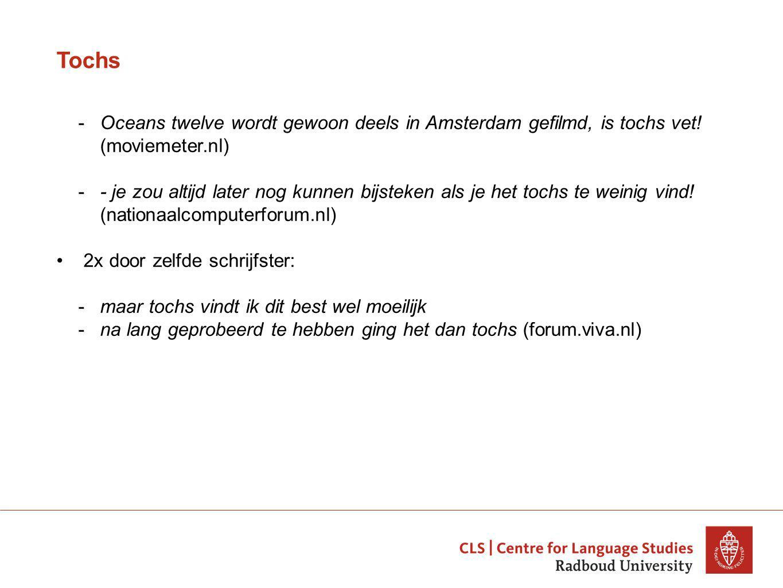 Tochs -Oceans twelve wordt gewoon deels in Amsterdam gefilmd, is tochs vet.