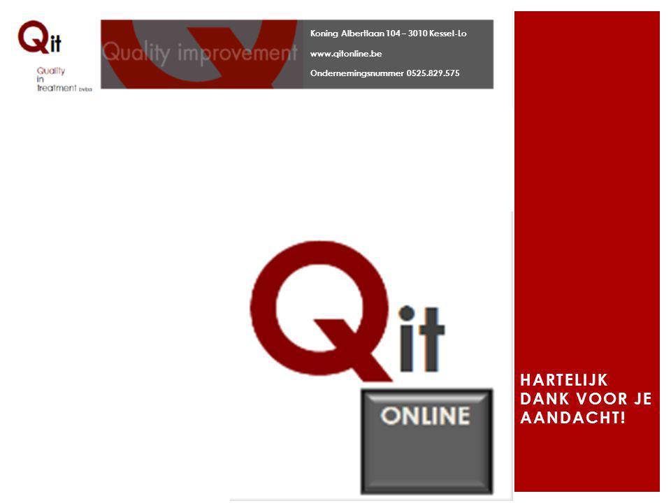 tool.qitonline.be: FAQ of info@qitonline.be VRAGEN OF BEDENKINGEN?