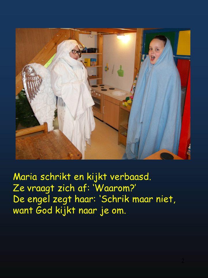 de kinderen van groep 5 en 6 van 't Möllenveld wensen u allen een goede Kersttijd en een gezond en gezegend 2015