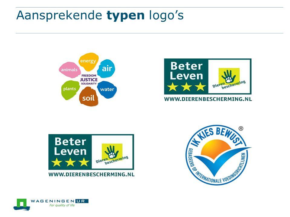 Aansprekende typen logo's