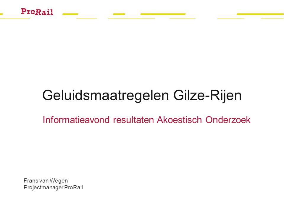 Resultaat Oosterhoutseweg Informatieavond Gilze-Rijen 13 november 2013 12