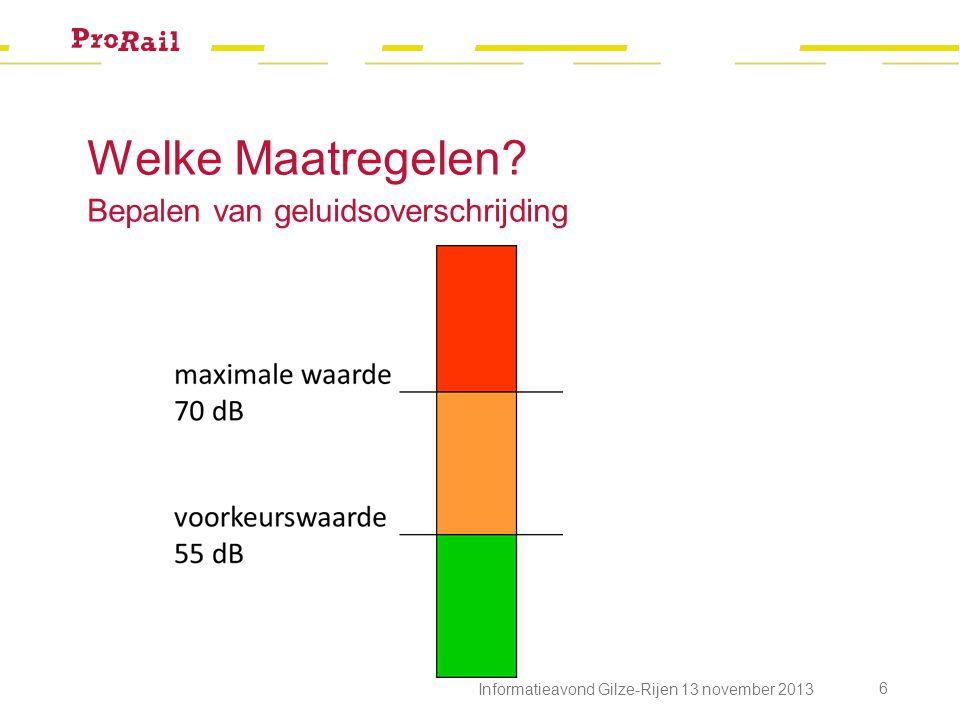 Resultaat Trees Kinstraat Informatieavond Gilze-Rijen 13 november 2013 17