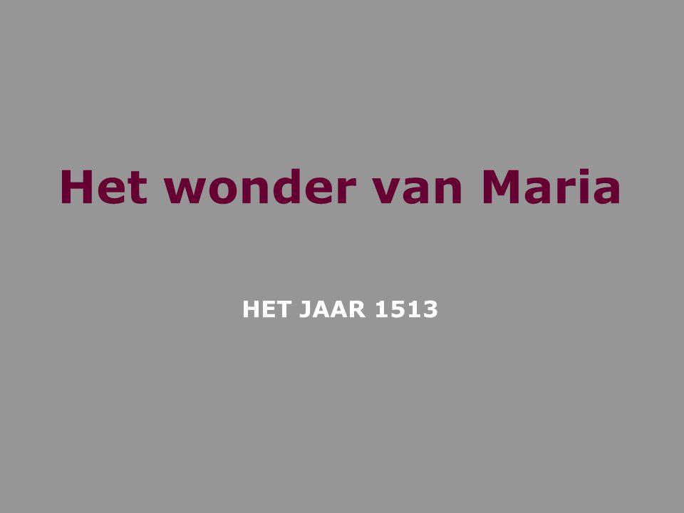 Het wonder van Maria HET JAAR 1513