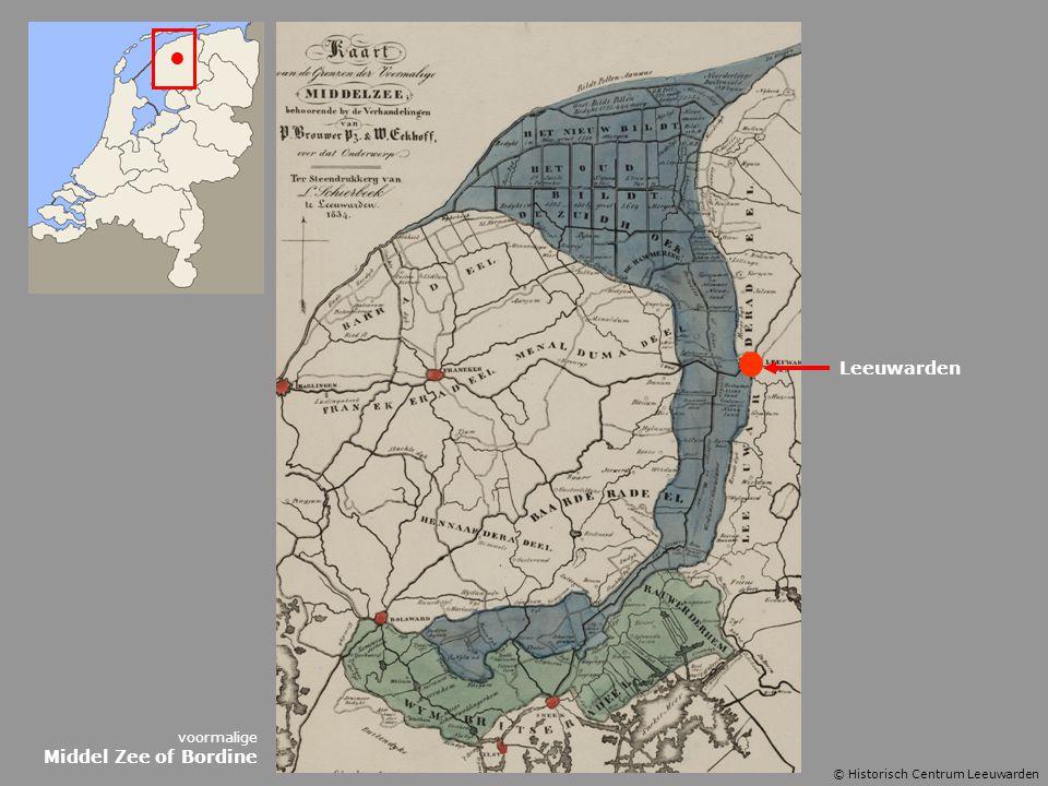 Leeuwarden voormalige Middel Zee of Bordine © Historisch Centrum Leeuwarden