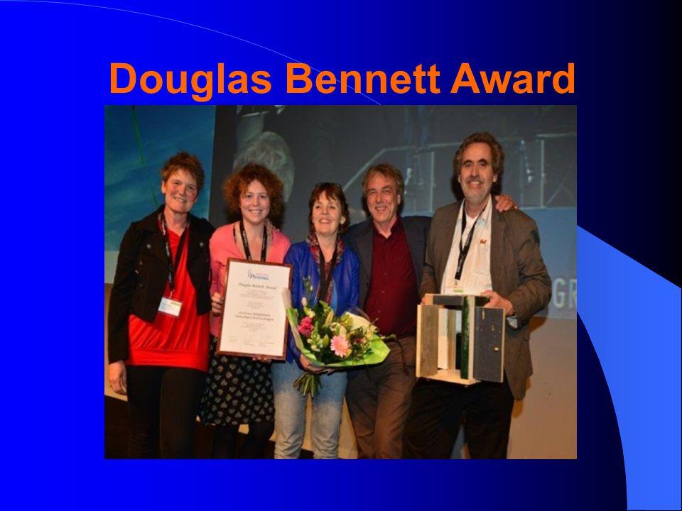 Douglas Bennett Award
