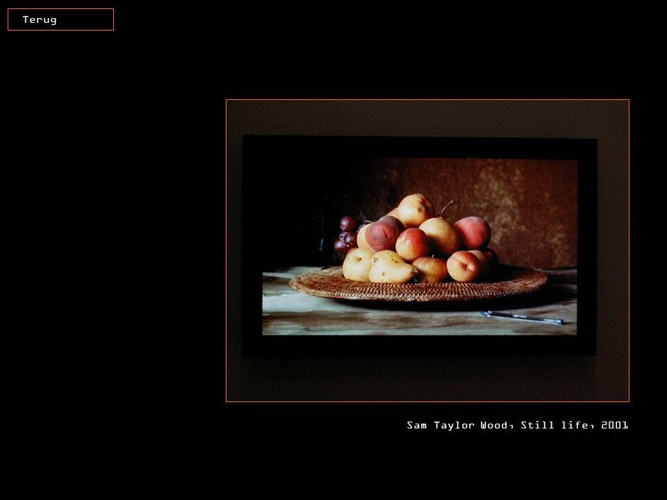 Terug Sam Taylor Wood, Still life, 2001
