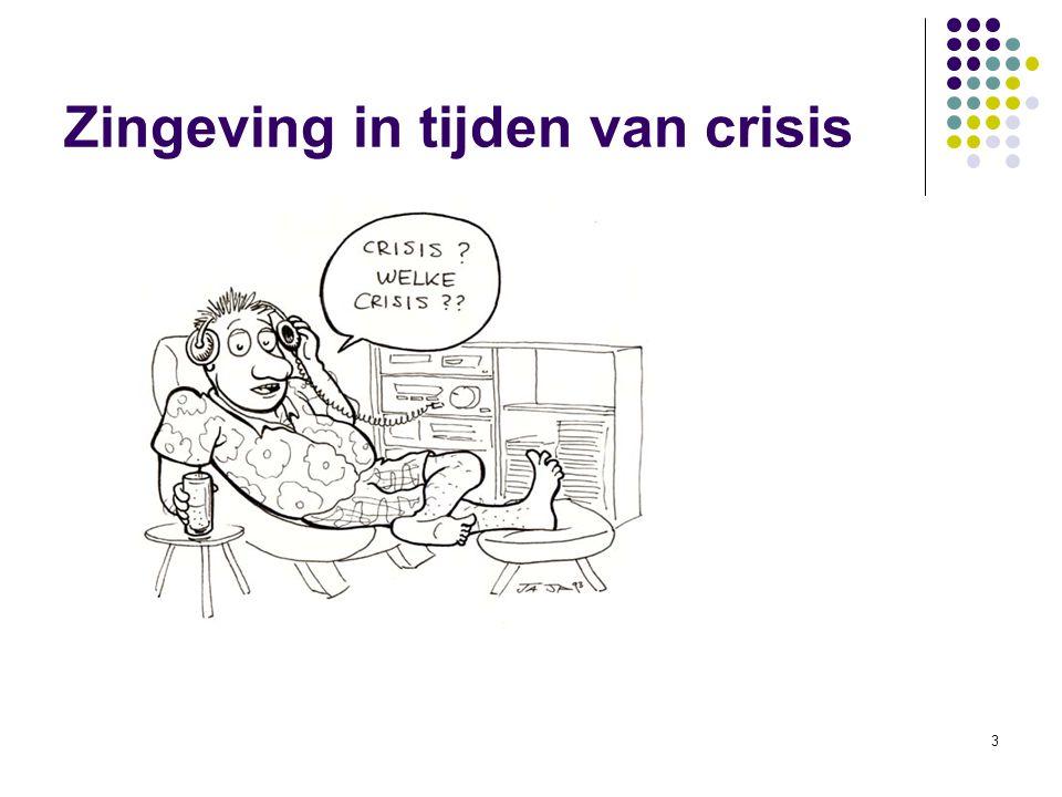 14 Zingeving in tijden van crisis 2. Verandering (Theory U, Otto Scharmer 2008)