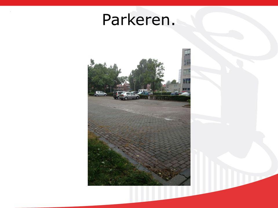 Parkeren.