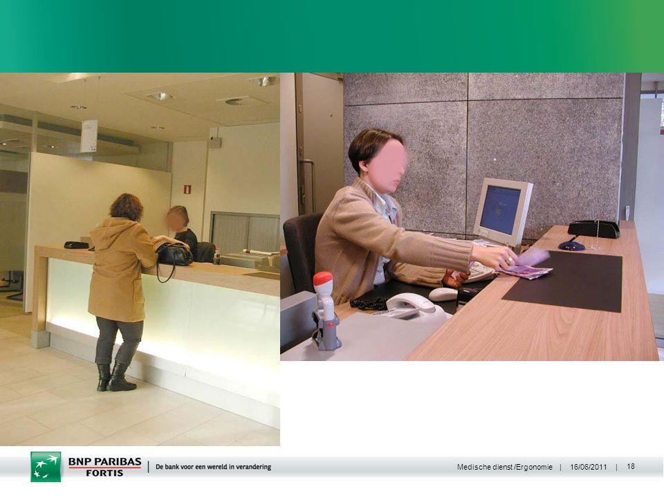 | 16/06/2011 | Medische dienst /Ergonomie 18