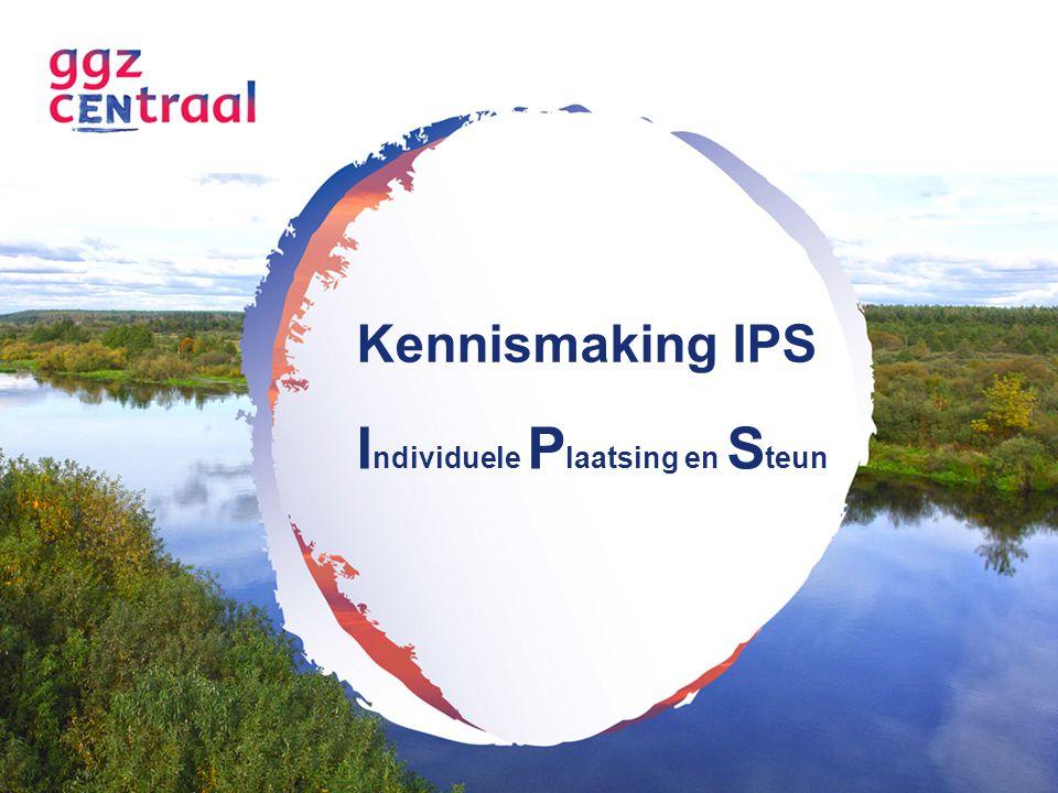 Vragen IPS 1.Maakt de IPSer deel uit van één team.