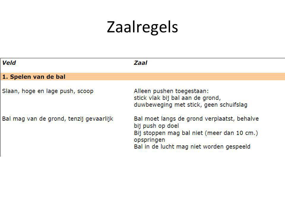 Zaalregels