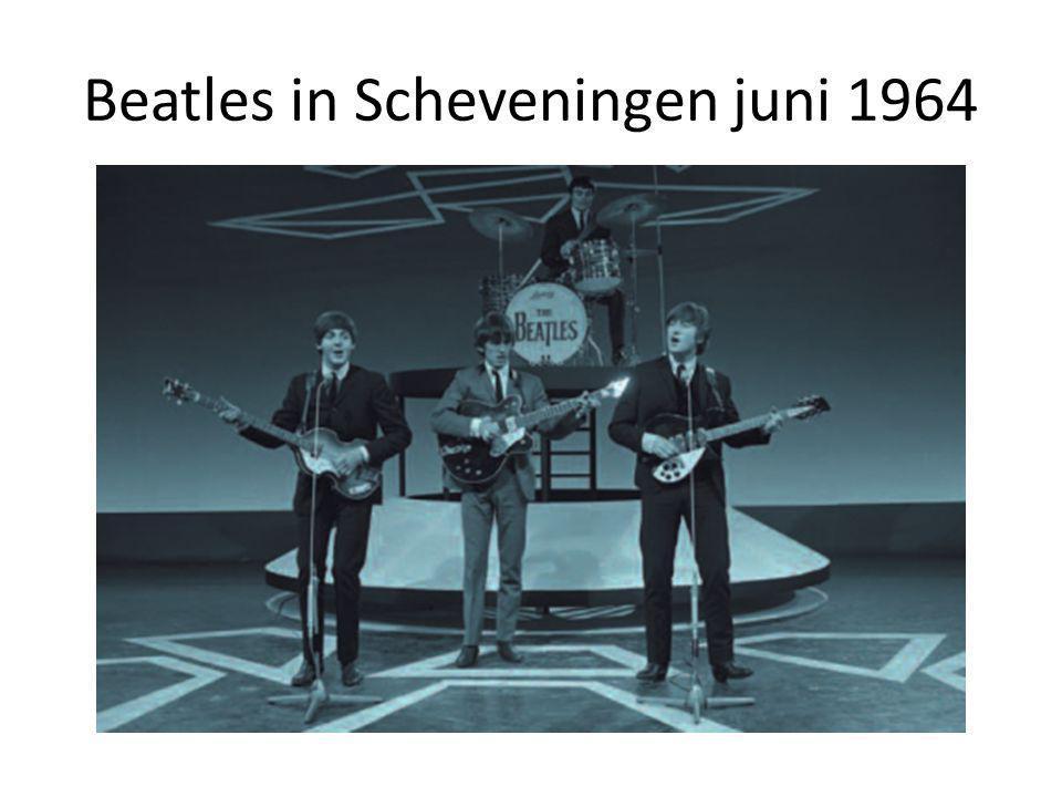 Beatles in Scheveningen juni 1964