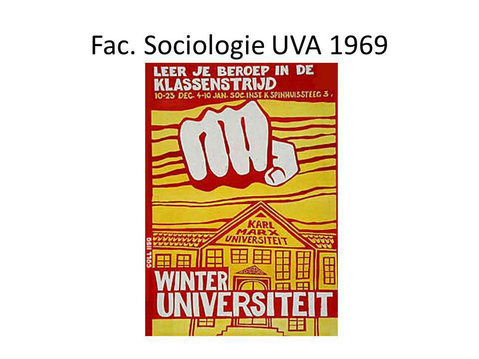 Fac. Sociologie UVA 1969