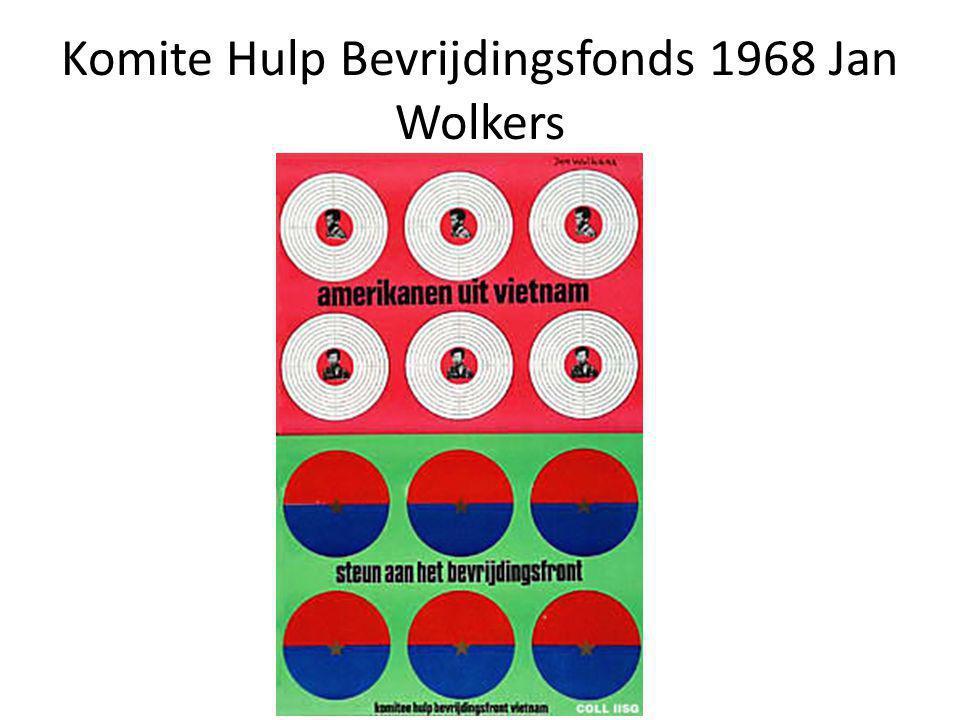 Komite Hulp Bevrijdingsfonds 1968 Jan Wolkers