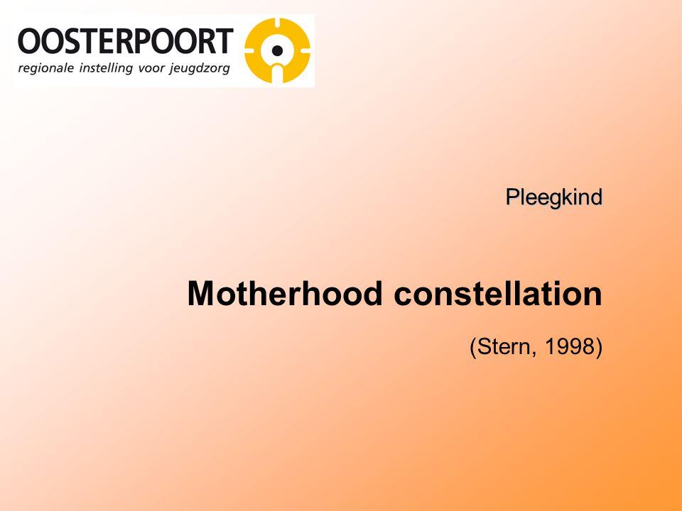 Pleegkind Motherhood constellation (Stern, 1998)