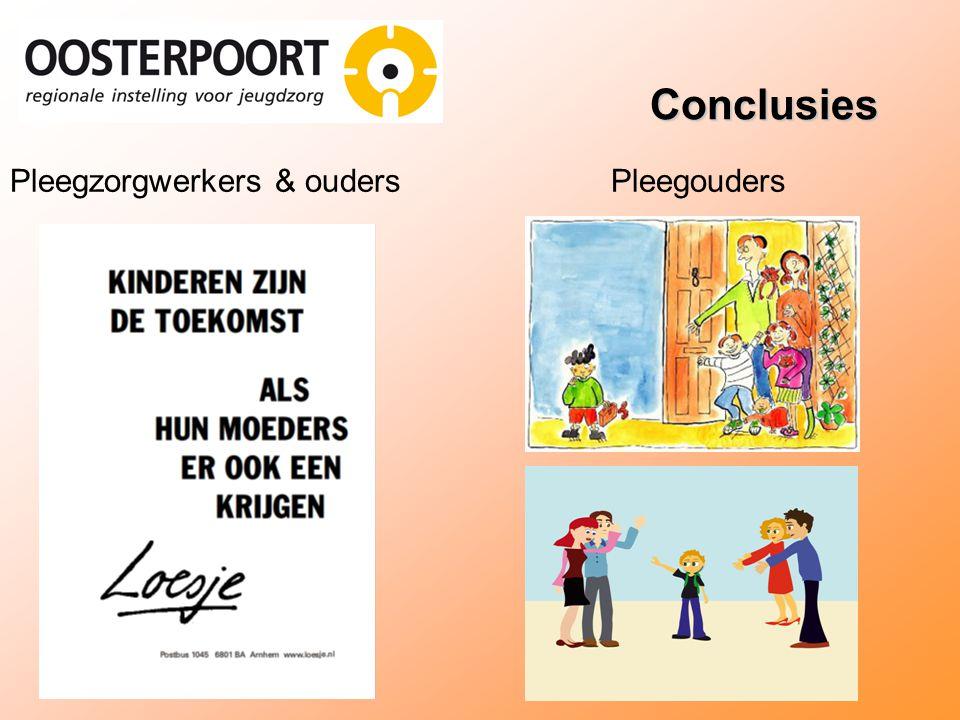 Conclusies Pleegzorgwerkers & oudersPleegouders