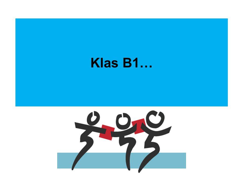 Klas B1…
