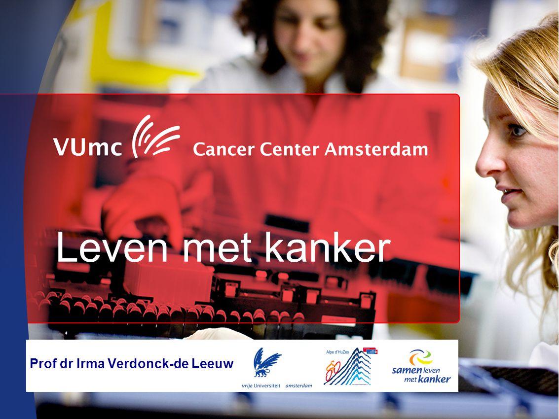 Leven met kanker Prof dr Irma Verdonck-de Leeuw