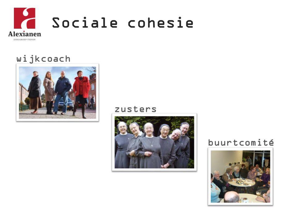 Sociale cohesie wijkcoach zusters buurtcomité