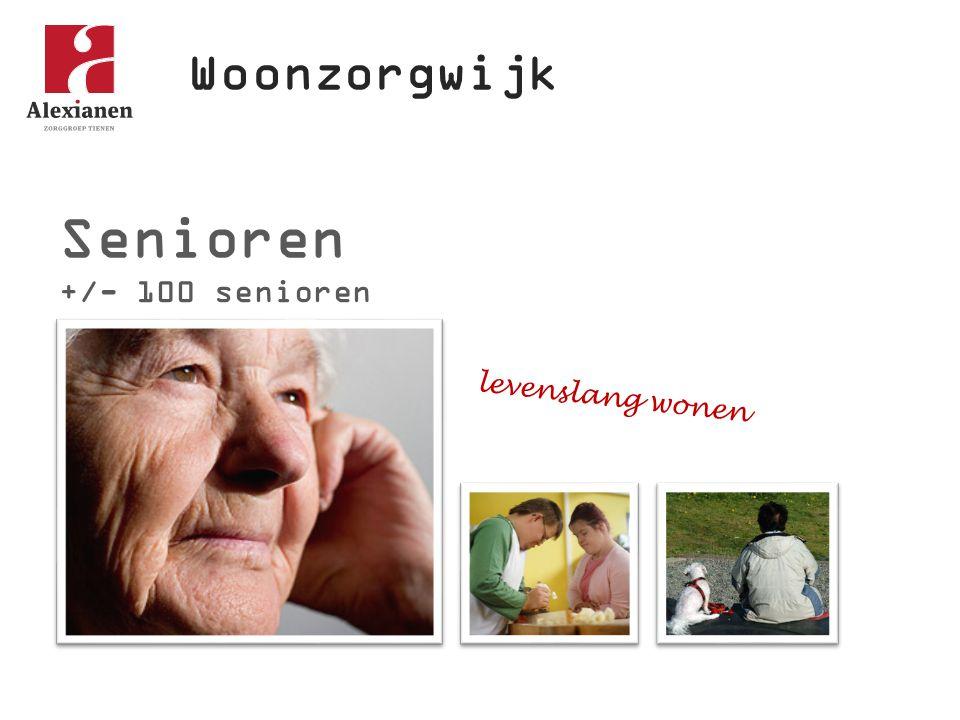 Woonzorgwijk Senioren +/- 100 senioren levenslang wonen