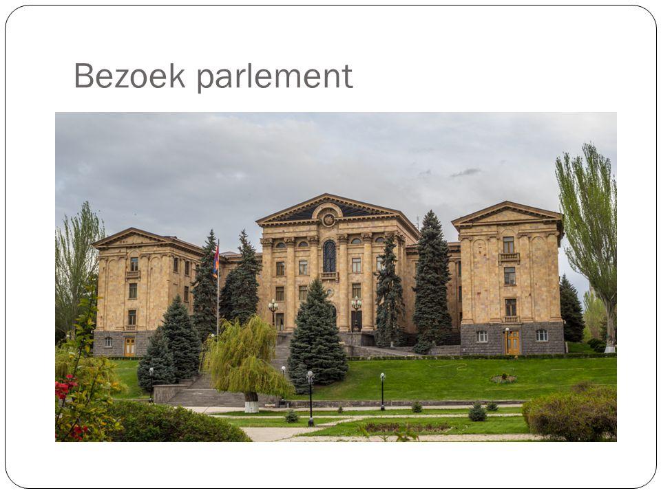 Bezoek parlement
