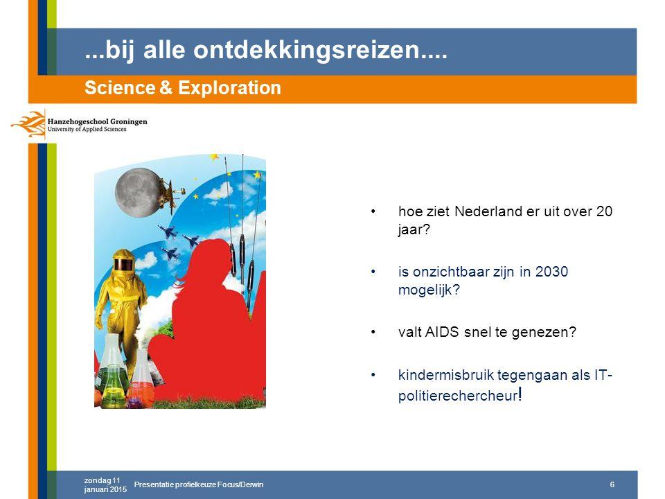 ...bij alle ontdekkingsreizen.... hoe ziet Nederland er uit over 20 jaar.