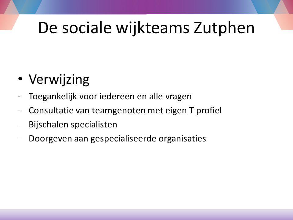 De sociale wijkteams Zutphen CJG SWT Het Plein