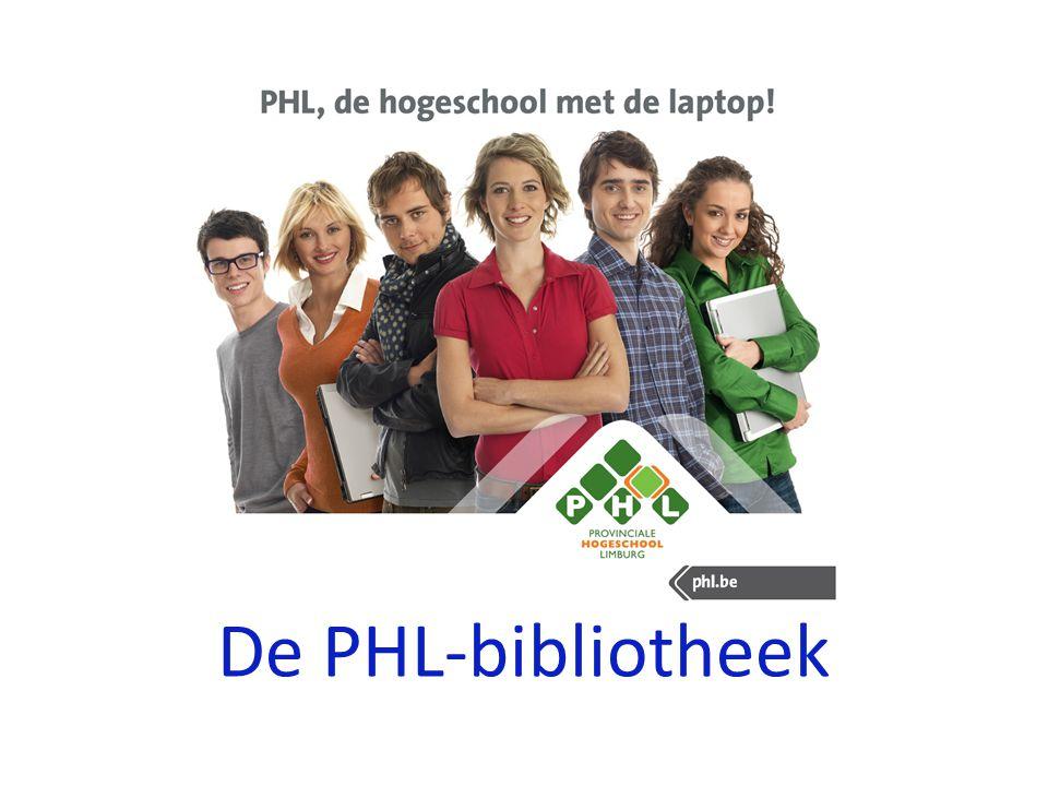 De PHL-bibliotheek
